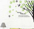 Trees, Birds Wall Decals