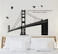 Bridge, Birds Wall Decals