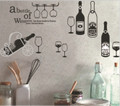 Wine, Cups Wall Decals