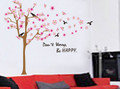 Flower, Trees, Birds Wall Decals