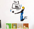 Basketball Play Wall Decals