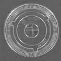 Plastic Cup Flat Lids - 10 OZ - 100/case