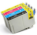 Epson T125 New Compatible Ink Cartridges Value Pack (BK/C/M/Y) (2 SETS OF 4)