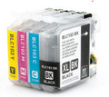 Brother LC103 Ink Cartridge High Yield - New compatible (2 sets of 4)