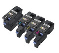 Dell E525W New Compatible Toner Cartridges (1 set of 4)