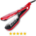 Steam Brush Hair Straightener