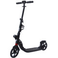 Kick Scooter with Dual Suspension Shocks and 200mm Wheels for Adult / Teenager