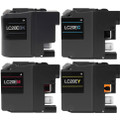 Brother LC20EXXL Compatible Ink Cartridges Extra High Yield (1 set of 4)