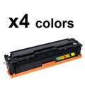 HP 305A CE410,1,2,3A Compatible Toner Cartridges - 4 Color Set