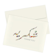 Urdu Thank You Stationery Set of 10