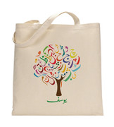 Personalized Urdu Tree Tote Bag
