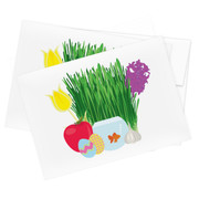 Nowruz Spread Stationery - Set of 10