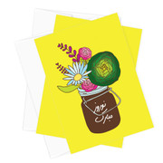 Nowruz Mobarak Mason Jar Stationery - Set of 10