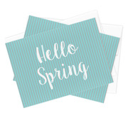 Hello Spring Stationery - Set of 10