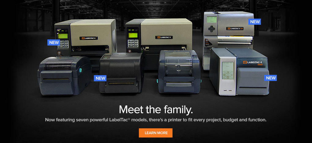 LabelTac family of Label Printers