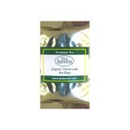 Organic Thyme Leaf Tea Bag Sampler