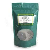 Hibiscus Flower Green Tea Blend Tea Bags