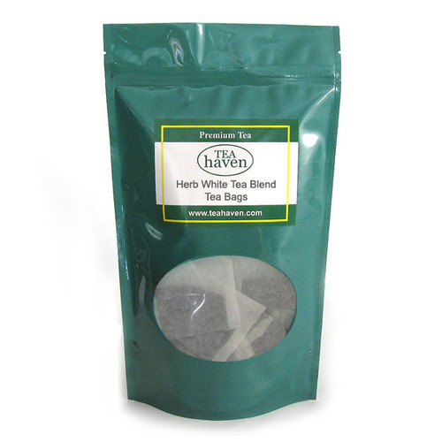 Carob Bean Pod White Tea Blend Tea Bags