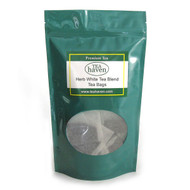 Malva Leaf Chinese Mallow White Tea Blend Tea Bags