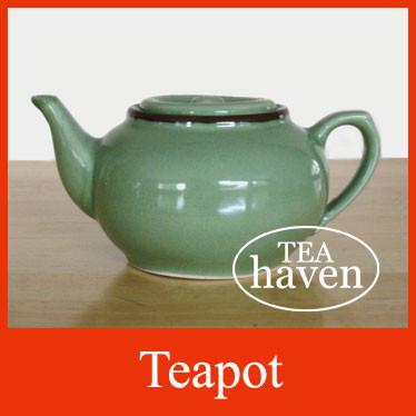 Teapot - Green (20 oz)
