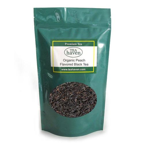 Organic Peach Flavored Black Tea