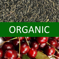 Organic Cherry Green Tea