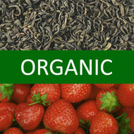 Organic Strawberry Green Tea