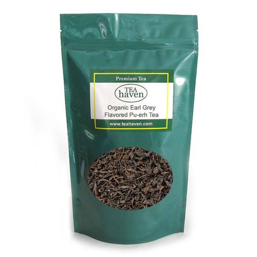 Organic Earl Grey Flavored Pu-erh Tea