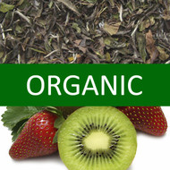 Organic Kiwi Strawberry White Tea