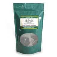 Organic 	Raspberry Green Rooibos Tea Bags