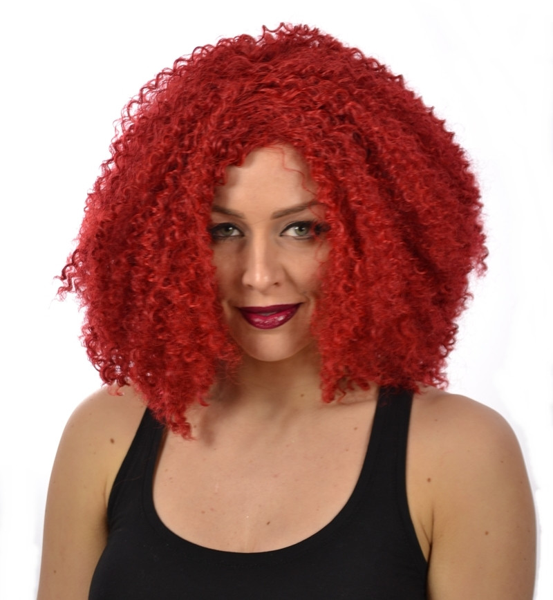 Deep Red Wig 72