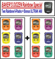 ULTRAK 460 Stopwatch RainBow Special BAKERS DOZEN 16-Lap/Split Memory 0.001 Second Resolution