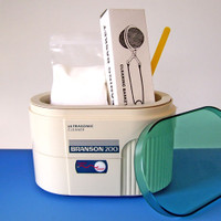 Branson B200 Ultrasonic Jewelry Cleaner - Complete Package