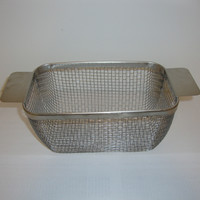 Sonicor Stainless Steel Mesh Baskets, for use with the Sonicor S-Series.