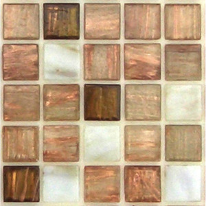 Wheatfield Blend 0.75 x Glass Mosaic Tile
