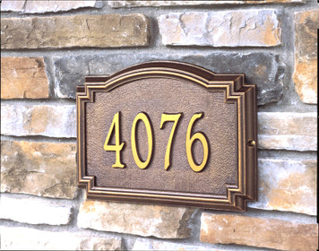 Williamsburg Classic Address Plaques