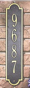 Richmond Vertical Address Marker