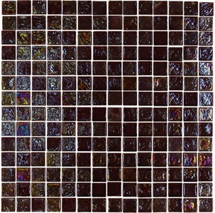 "Glass-Mosaic-backsplash-tile-kitchen-Wall-Bathroom.  Tile applications Suitable for interior and exterior use, walls, countertops, backsplashes and pool borders.  Dimensions Tile size: Approx. 3/4"" x 3/4""   Thickness: Approx. 1/4""  Grout joint: Approx. 1/8""  Sq. ft. per sheet: Approx. 1.0 Tile per sheet: 196 Mounting: Mesh-backed"