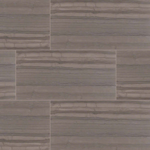 "MS International Sophie: Anthracite 12"" x 24"" Porcelain Tile NSOPANTI1224"