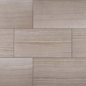 "MS International Eramosa: Silver  12"" x 24"" Porcelain Tile NERASIL1224"