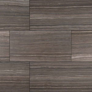 "MS International Eramosa: Grey  12"" x 24"" Porcelain Tile NERAGRE1224"