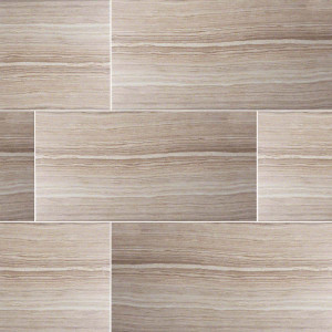 "MS International Eramosa: Beige  12"" x 24"" Porcelain Tile NERABEI1224"