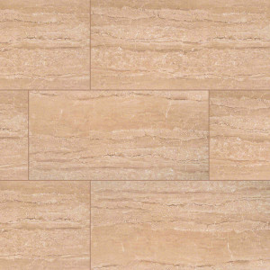 "MS International Pietra: Dunes Beige 12"" x 24"" Porcelain Tile NPIEDUNBEI1224P"