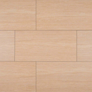 "MS International Pietra: Travertino Romano 12"" x 24"" Porcelain Tile NTRAROM1224"