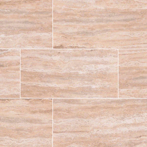 "MS International Pietra: Venata Sand 12"" x 24"" Porcelain Tile NPIEVENSAN1224P"