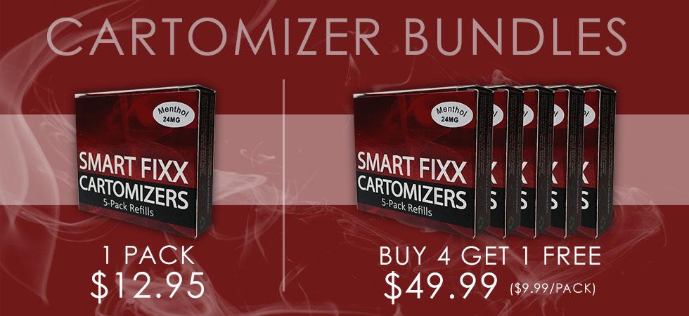 SmartFixx | E-Cigaratte Cartomizer Refills & Kits
