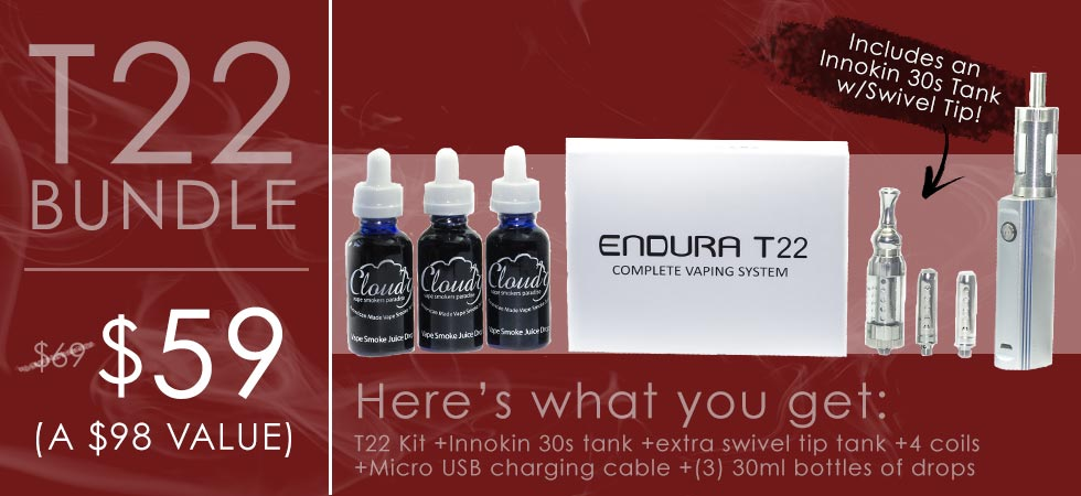 Innokin Endura T22 Bundle - $59