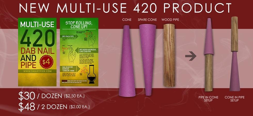 Multi-Use 420 Dab Nail & Pipe