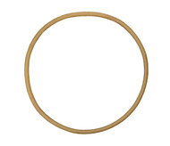 "15 5/8"" ID Natural Rubber Manway Gasket"