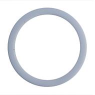 "4.0"" White Teflon I-Line Style Sanitary Gasket"